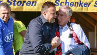 Belastungsprobe: Das Verhältnis zwischen Patrick Rahmen und Alfred Schmid wird getestet.