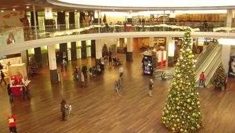«Ähnlich gut wie im Vorjahr»: Das Shoppi Tivoli in Spreitenbach wurde am Sonntag nicht überrannt.  ZVG