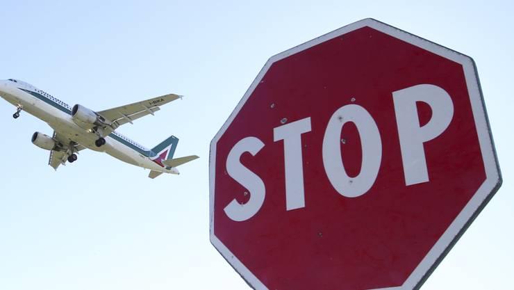 Gesperrt: Mailand muss wegen Bauarbeiten bis Ende Oktober ohne seinen Stadtflughafen Linate auskommen. (Themenbild)