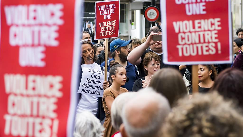 Gericht verurteilt Männer wegen verprügelter Frauen in Genf