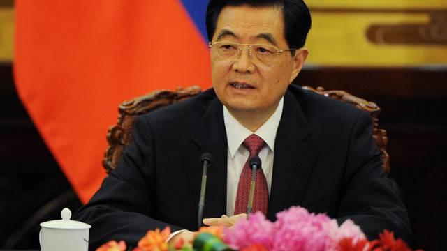 Der chinesische Staats- und Parteichef Hu Jintao (Archiv)