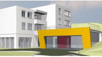 So soll der Anbau des Kindergartens Rötelacher in Geroldswil dereinstaussehen, falls die Gemeindeversammlung den Kredit spricht. zvg