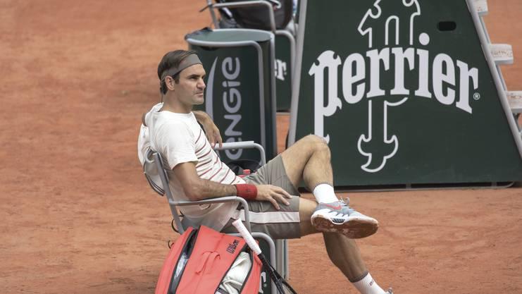 Roger Federer sagt, er wisse nicht, ob er das Turnier gewinnen könne.