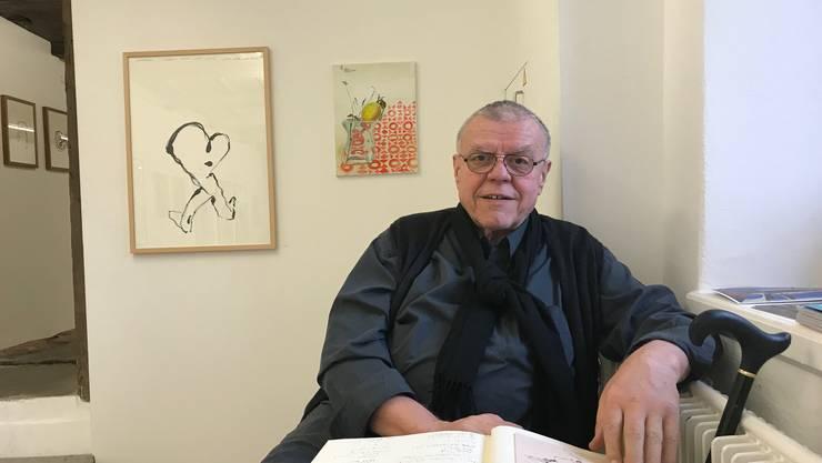 Ueli Diener hat seit 1996 im Team der Galerie Rössli mitgewirkt