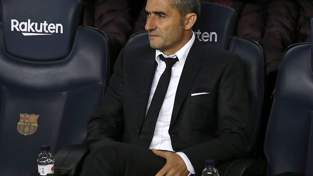 Ernesto Valverde ist nicht mehr Trainer des FC Barcelona