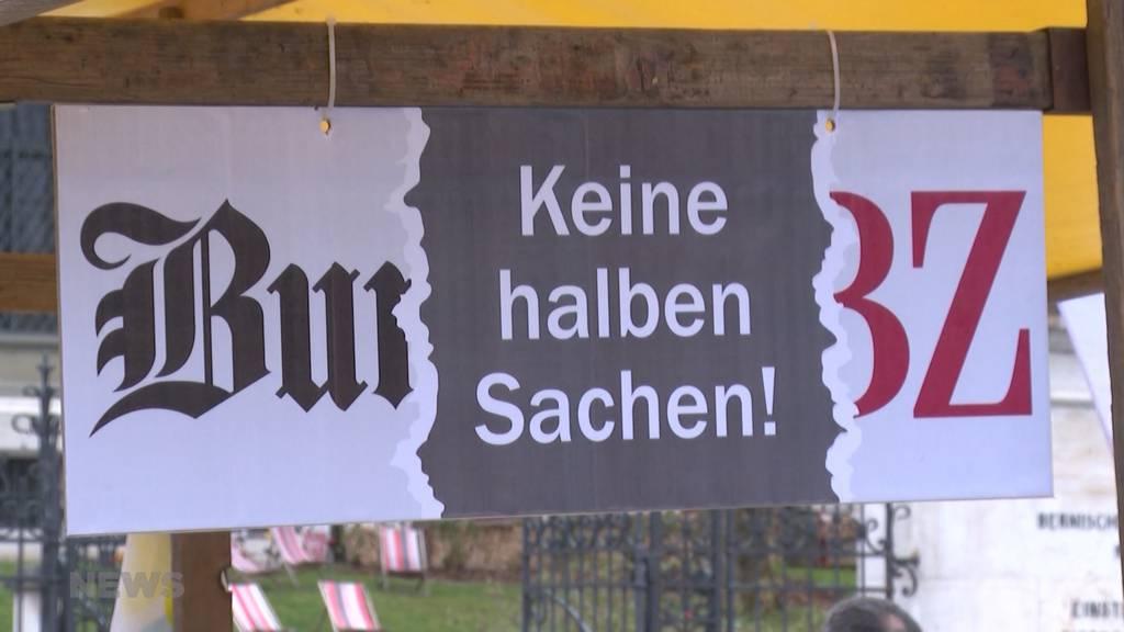 Bund-und BZ-Mitarbeiter zur geplanten Fusion der beiden Berner Tageszeitungen
