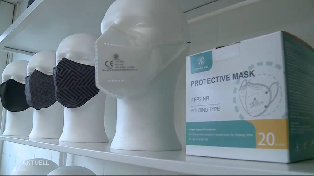 Droht der Schweiz ein FFP2-Masken-Engpass?