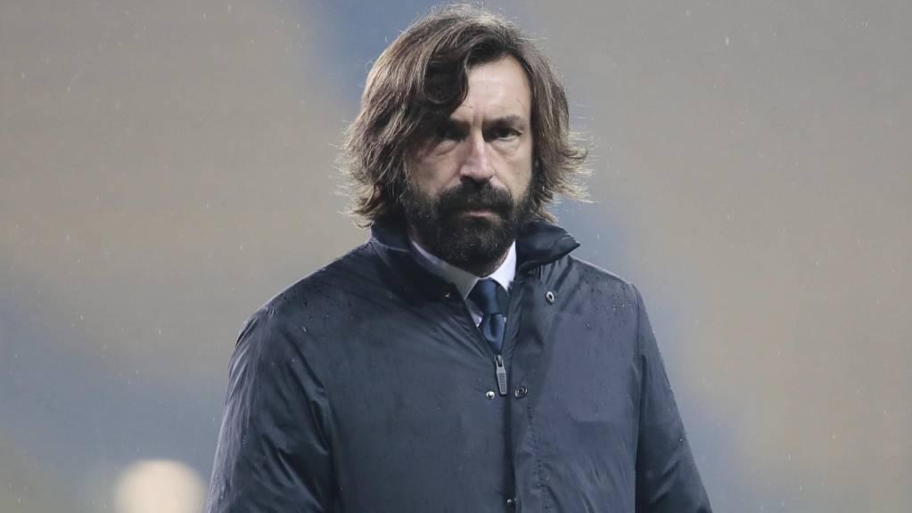 Juventus-Trainer Andrea Pirlo muss mit seinem Team gegen Napoli doch noch antreten