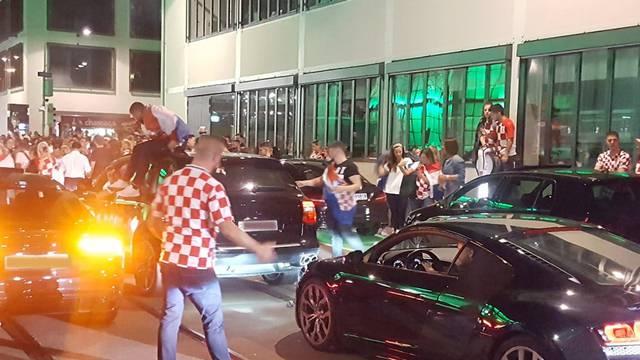 WM: Kroatien-Fans feiern Finaleinzug