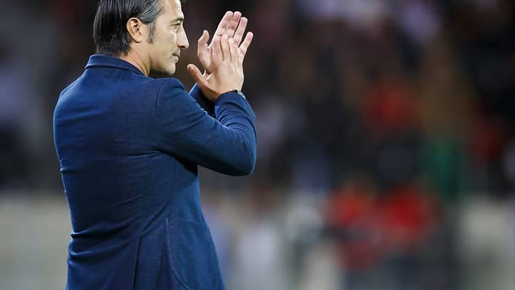 Murat Yakin feiert mit Sion gegen den FC Zürich einen wichtigen Sieg