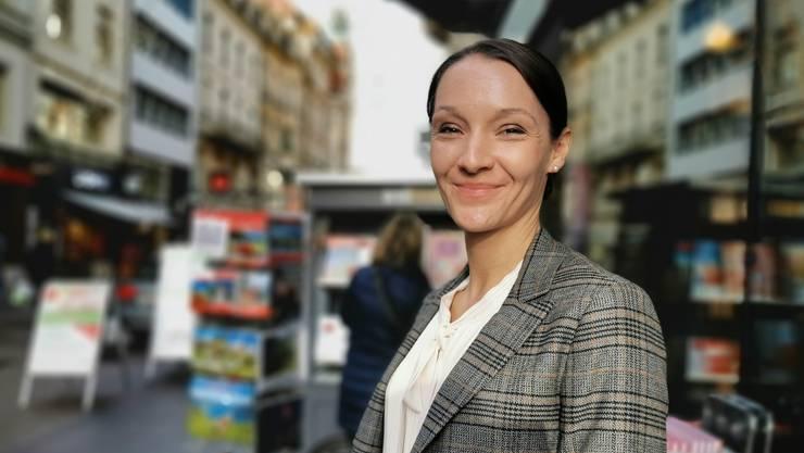 «Die Jugendbuchabteilung wächst extrem»: Simona Pfister in der Freien Strasse in Basel.