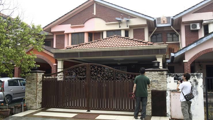 Das Haus des Piloten Fariq Abdul Hamid wurde durchsucht.