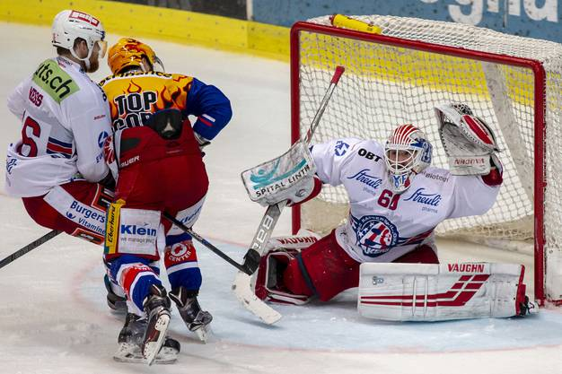 Denis Hollenstein schoss die Flyers zum Sieg.