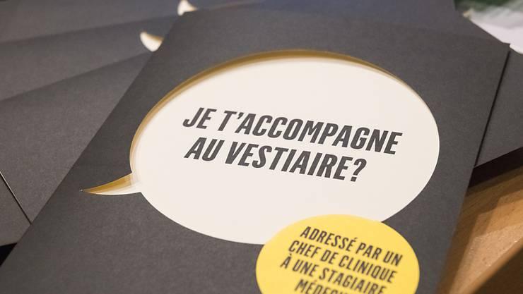 Das Universitätsspital Lausanne (CHUV) startet nach verschiedenen Vorfällen eine interne Sensibilisierungskampagne gegen Sexismus am Arbeitsplatz.