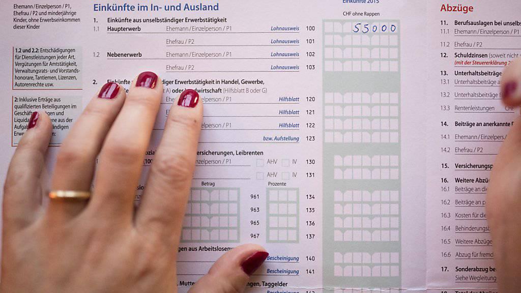 Bis Ende September konnten sich Steuersünder straffrei besinnen. Viele haben das gemacht. (Symbolbild)