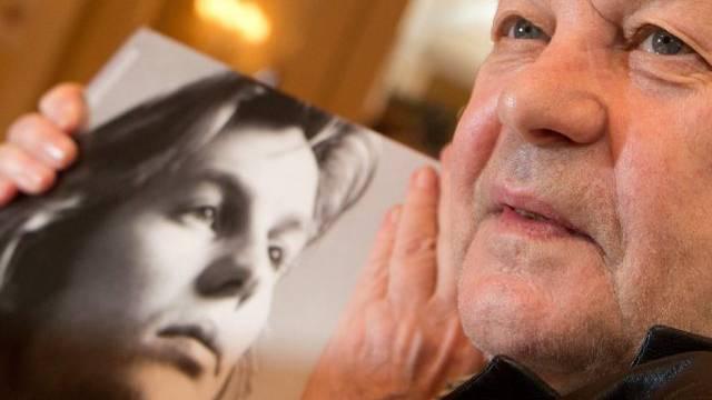 Helmut Berger einst (l) und jetzt (Archiv)