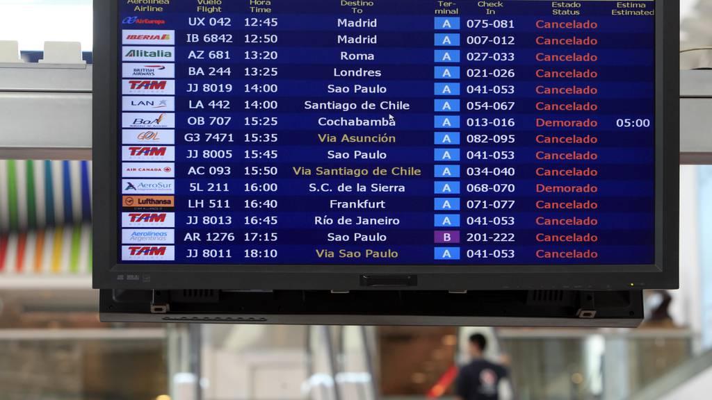 Über 400 weitere Schweizerinnen und Schweizer aus Ausland zurückgekehrt
