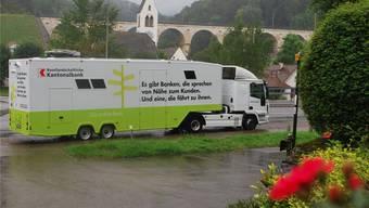 Die Mobile Bank der Kantonalbank ist seit acht Jahren im Baselbiet unterwegs.