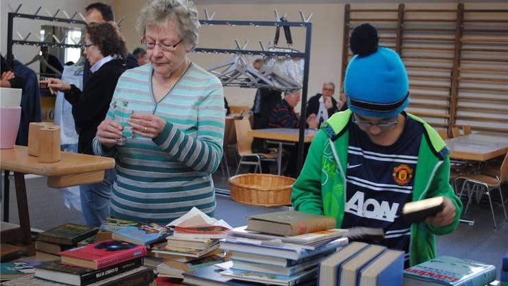 Bücher waren am Bring- und Holtag besonders beliebt.