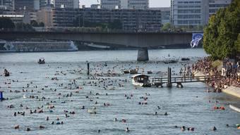 Das Rheinschwimmen findet morgen nicht statt.