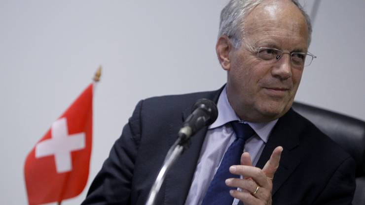 Bundesrat Johann Schneider-Ammann in Brasilien.
