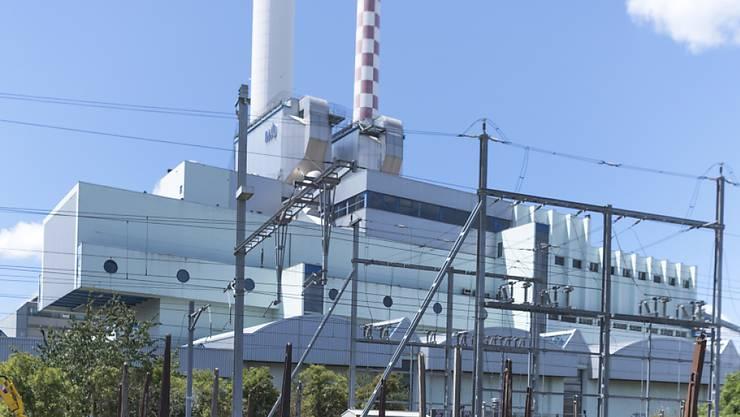 Auf der Baustelle der Basler Kehrichtverbrennungsanlage soll es zu Lohndumpingfällen gekommen sein. (Archivbild)