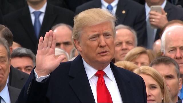 Trump beim Gesundheitscheck