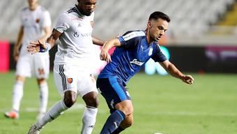 Serey Die (links) spielt ab sofort nicht mehr für Basel