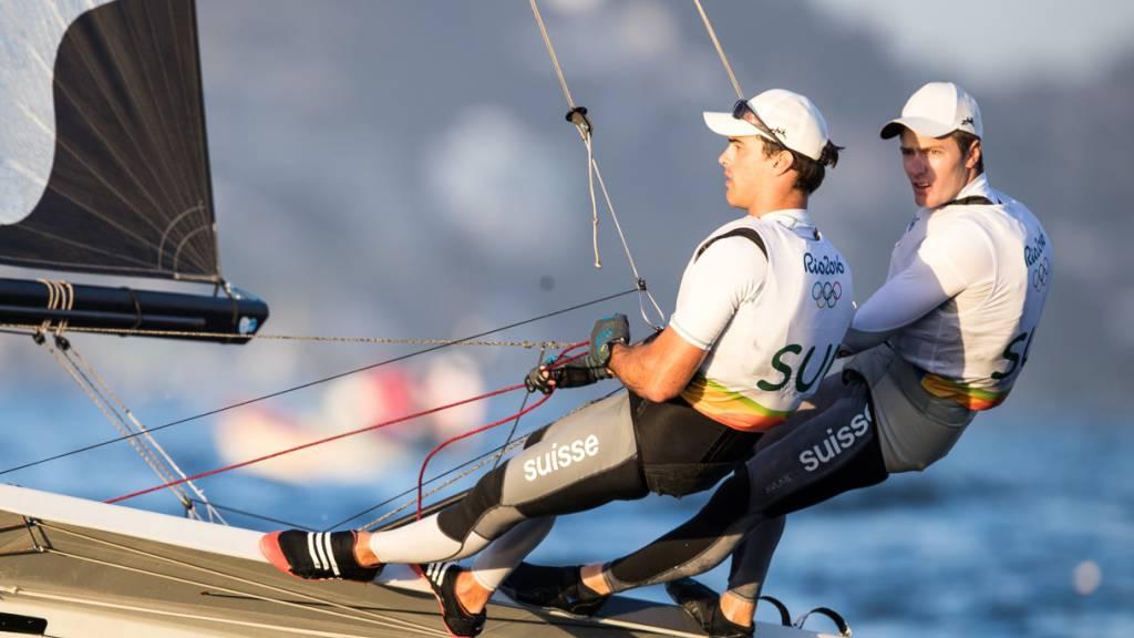 Sébastien Schneiter und Lucien Cujean dürfen für Tokio 2020 planen