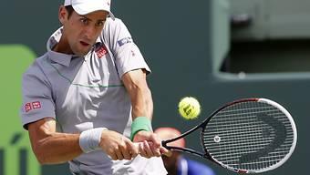 Novak Djokovic war im Final von Miami überlegen