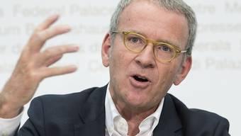 Adrian Lobsiger, der Eidgenössische Datenschutz-und Öffentlichkeitsbeauftragte, fordert an seiner Jahresmedienkonferenz in Bern ein bürgerverständliches Polizeigesetz des Bundes.