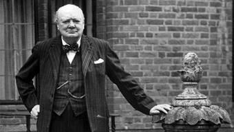 «Ein wirklich grosser Mann»: Winston Churchill.