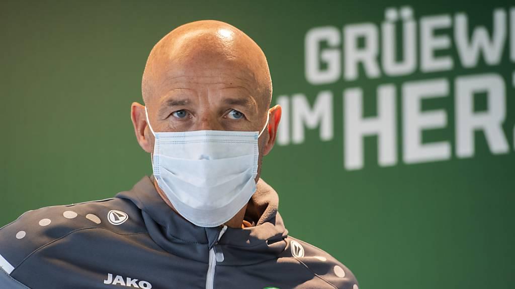 Auch für Peter Zeidler und den FC St. Gallen soll der Weg in der Gruppenphase des Europacup-Wettbewerbs führen