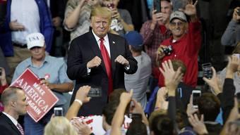 US-Präsident Donald Trump bei einem Wahlkampfauftritt in Iowa. (Archivbild)