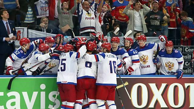 Die Russen dominierten die WM und sicherten sich den Titel