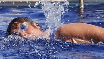 Keine Angst vor Haien: Diana Nyad bei ihrem Rekordversuch