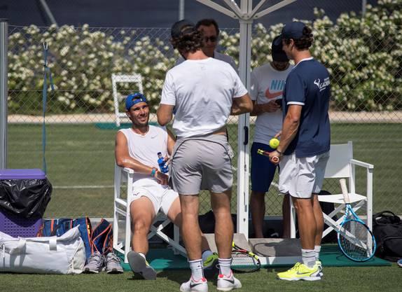 Rafael Nadal bereitet sich derzeit in Mallorca auf Wimbledon vor (Bild: Keystone).