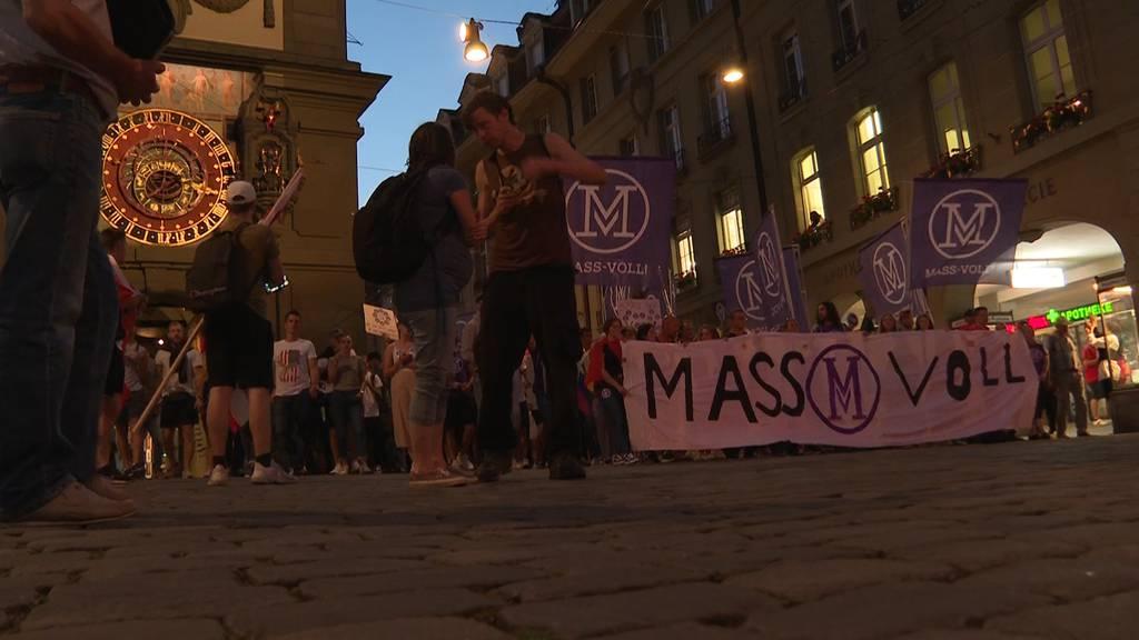 Nach Ausweitung der Zertifikatspflicht: Demonstranten wollen zum Bundeshaus