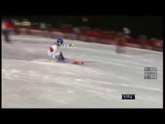 Siegeslauf beim Slalom in Flachau 2015: Frida Hansdotter