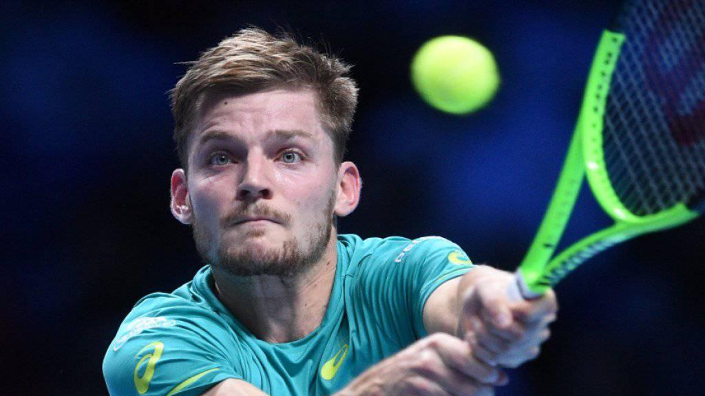 David Goffin ringt Rafael Nadal nieder