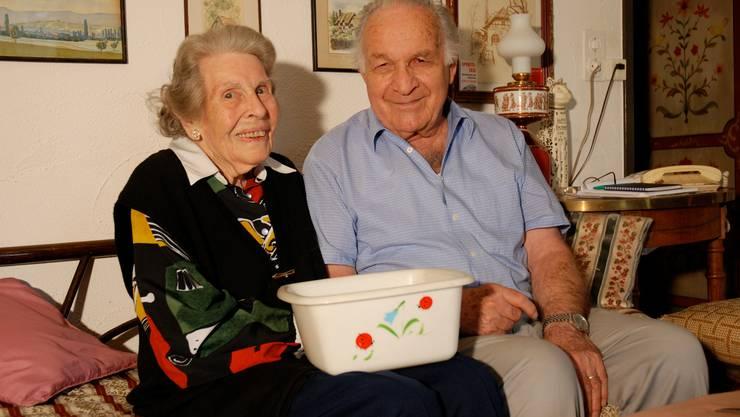 Frieda und Edi Jakob wohnen in Killwangen und pflegen den Kontakt zu ihren ehemaligen Mitarbeitern.