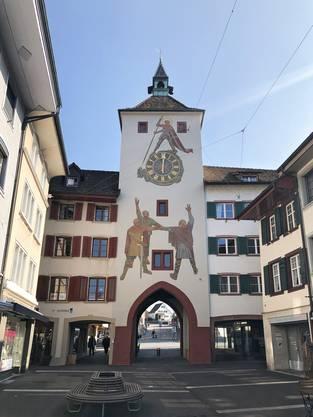 So sieht das frisch renovierte Liestaler Törli aus.