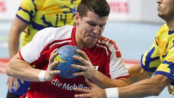 Matchwinner für die Schweiz fünf Sekunden vor Schluss: Dimitrij Küttel. (Archivbild)