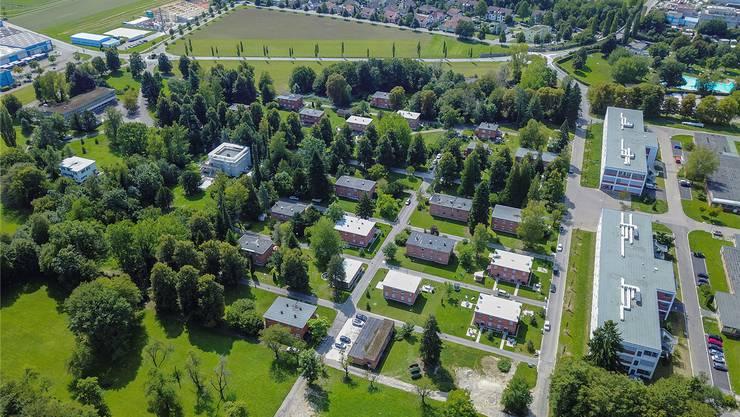 Leben und Arbeiten nebeneinander: Ab 1932 wurde die Bata-Kolonie in Möhlin gebaut.