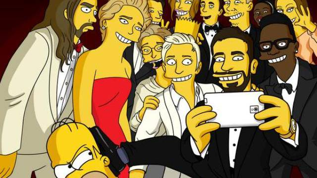 Das Oscar-Selfie, wie es wirklich war (Bild Twitter)