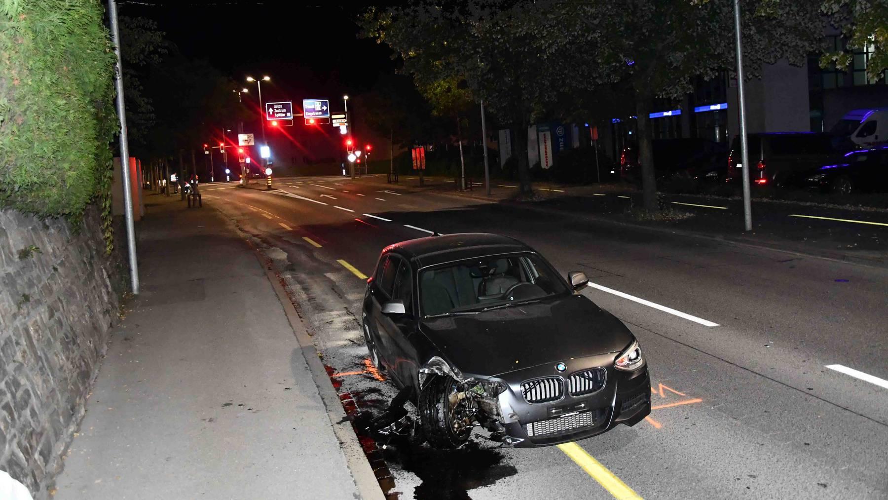 Beim Unfall wurde niemand verletzt.