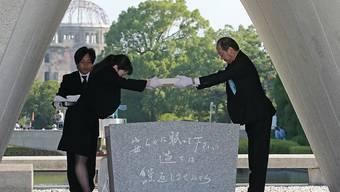 Die Einwohner von Hiroschima gedenken auch in diesem Jahr dem Abwurf der Atombombe vor 73 Jahren auf ihre Stadt.