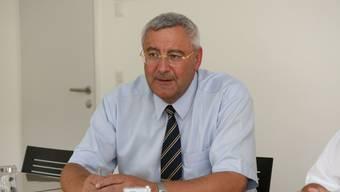 Gemeindeammann Martin Widmer möchte das Dienstleistungsangebot der Post in der Gemeinde behalten (psi/Archiv)