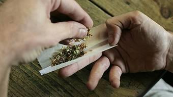 Konsum von Marihuana