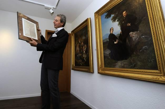 Das Bild «Der Markt von Tanger» begeisterte Kurator Beat Leimer 1990 so sehr, dass er mehr über den Künstler erfahren wollte.